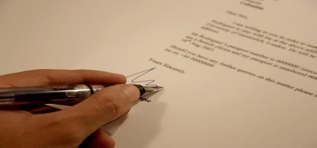 Συστατική επιστολή